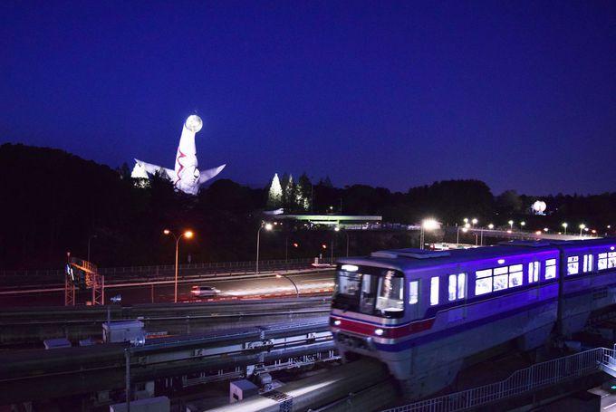 大阪モノレールは車窓観光も楽しめる!