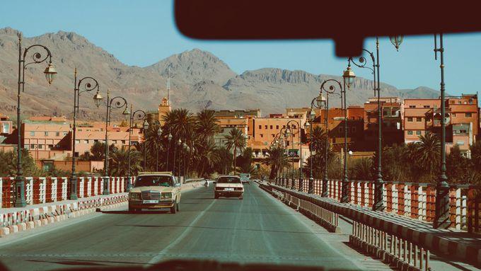 モロッコの移動手段:タクシー