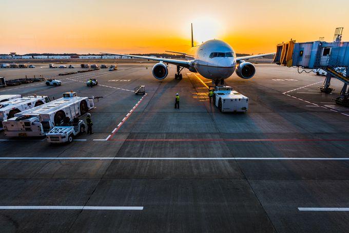 モロッコの移動手段:飛行機