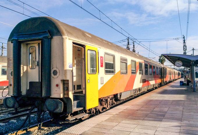 モロッコの移動手段:鉄道