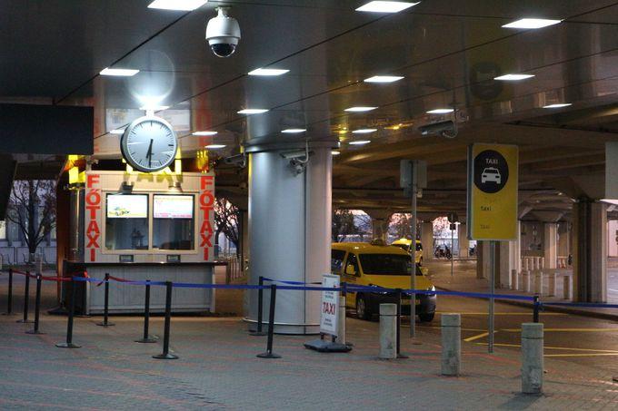 エアポート・タクシーは空港公認で安心!