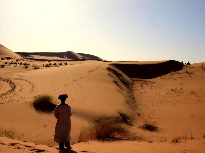 サハラ砂漠観光に便利〜メルズーガ〜