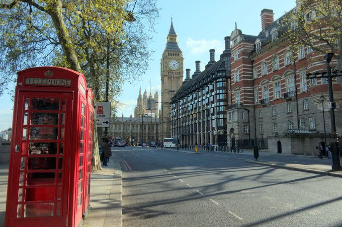 ロンドンの主要エリア、宿泊施設の特徴