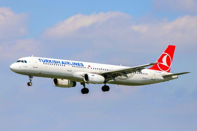 トルコの移動手段:飛行機