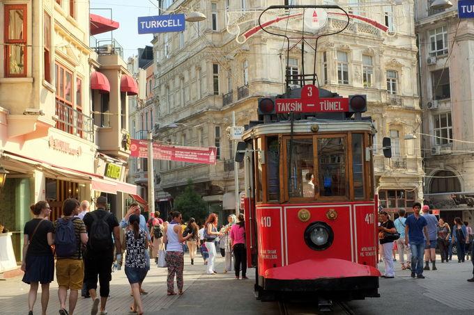 イスタンブール市内での交通手段は?