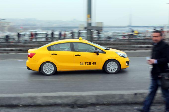 トルコの移動手段:タクシー
