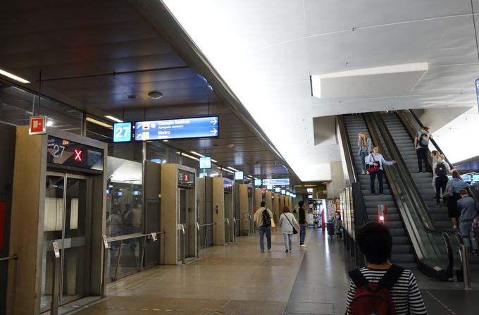 ヘルシンキでの乗降はここから!カンピバスターミナル