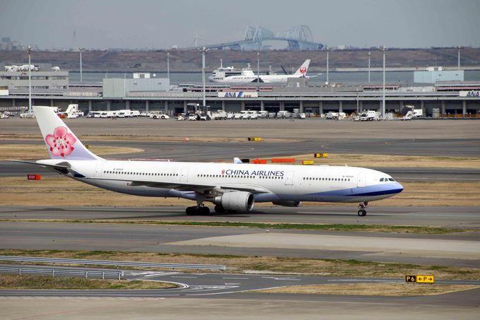 日本と台湾間の最大便数を誇るチャイナ エアライン