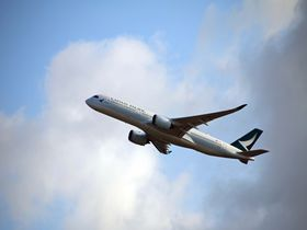 台湾への直行便利用がおススメで香港乗継も便利!キャセイパシフィック航空の快適な空の旅
