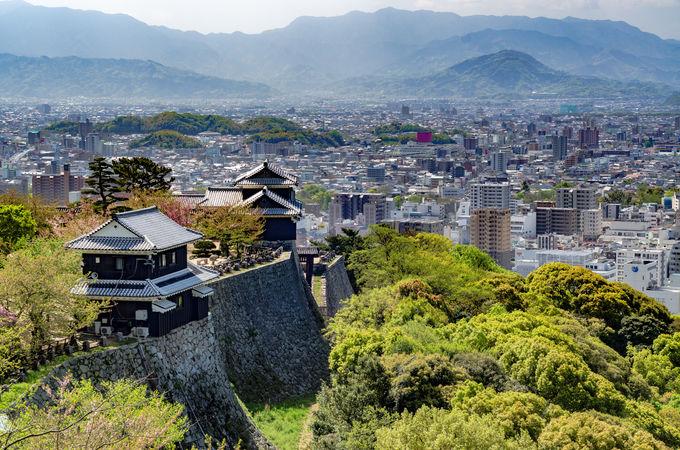 松山への行き方、まわり方