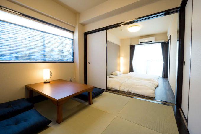 2.東京ドームから徒歩6分!和室のお部屋