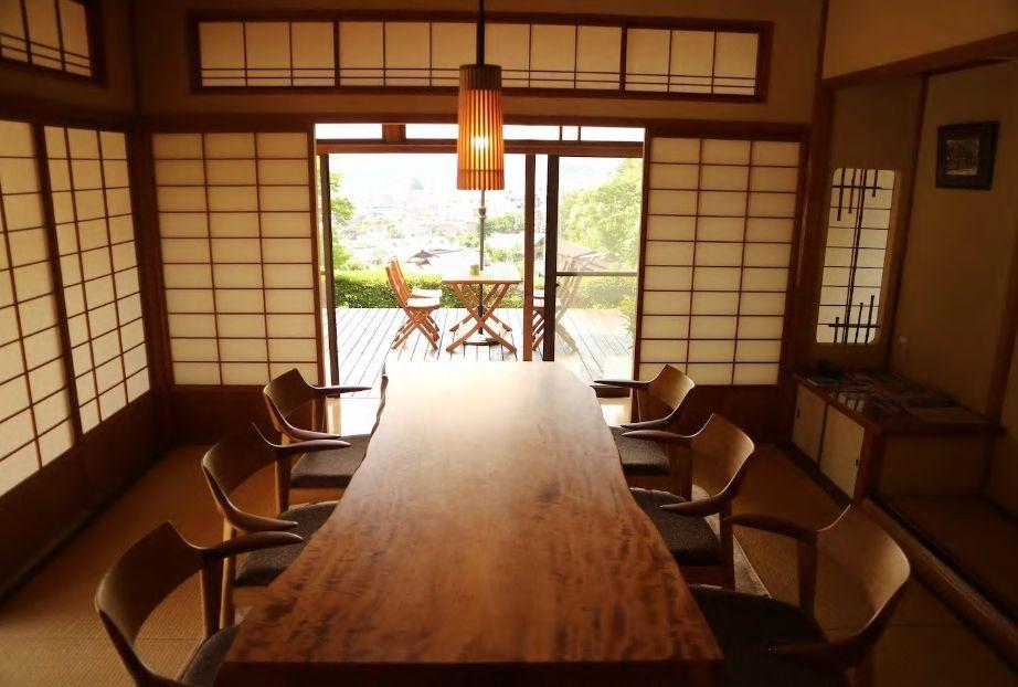 1.春の山王祭が行われる日枝神社近く、一日一組限定の民泊