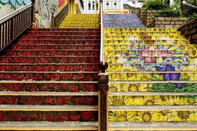 7.花の階段(フラワーステアーズ)