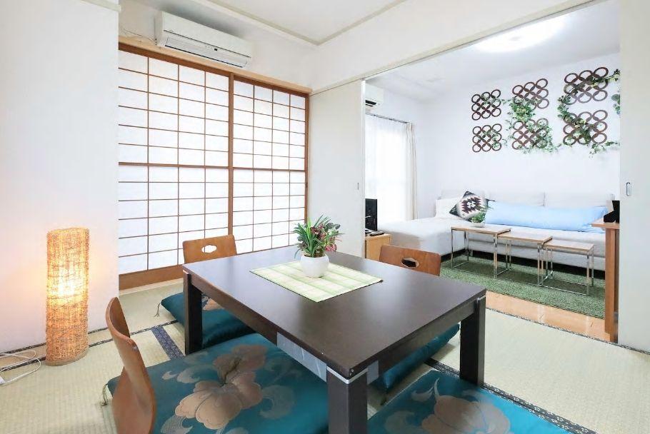 5.和室の畳部屋でゆったり、大曽根駅からは徒歩5分