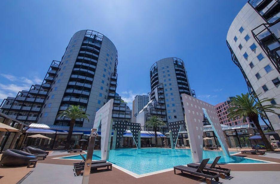6.百道浜に近いリゾート感あふれる高層アパートメント