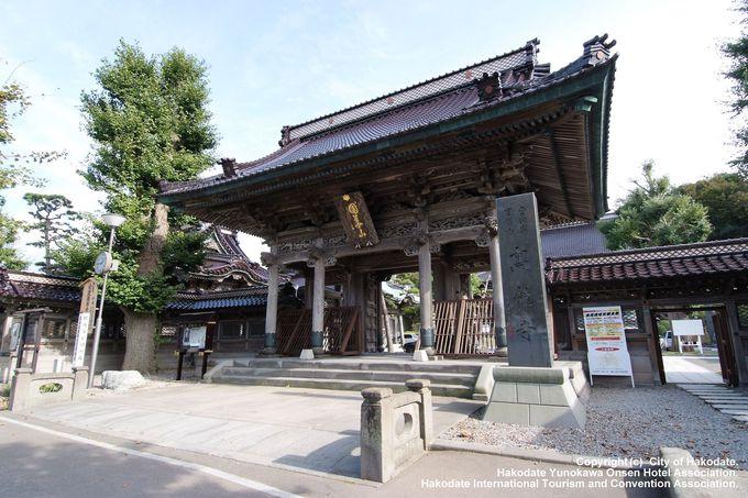 函館の歴史と共に歩んできた市内最古の寺院「高龍寺」