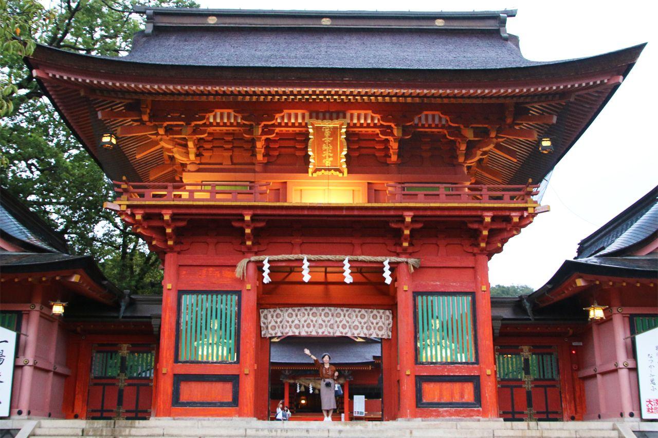 1日目17:00:富士山霊のパワースポット「富士山本宮浅間大社」へ