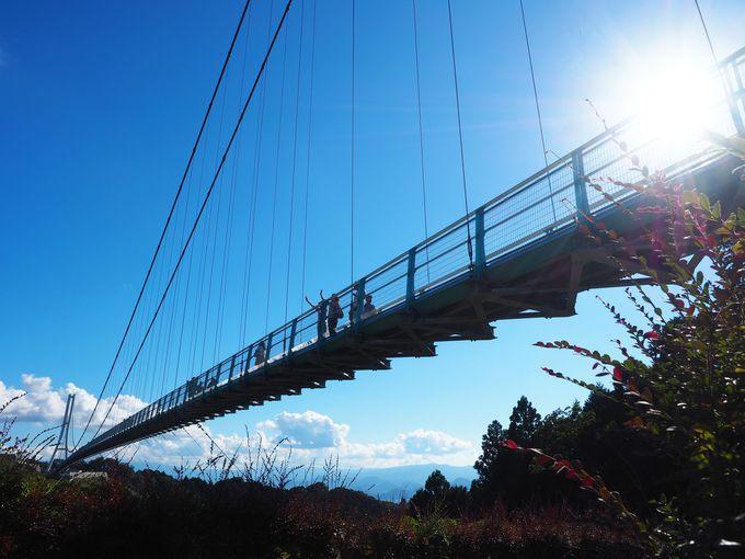 2日目9:45:静岡の新名物「三島スカイウォーク」へ