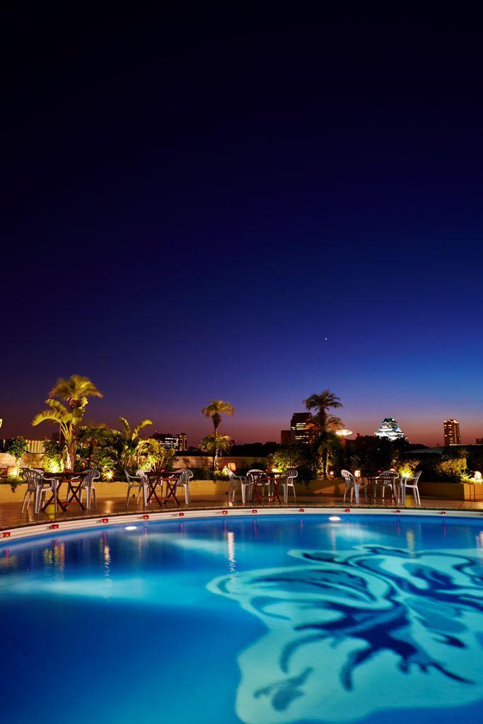 関西唯一のナイトプール付きホテル「ホテルニューオータニ大阪」