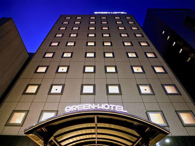 女性におすすめの「博多グリーンホテル天神」