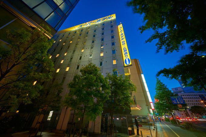 快眠できる「スーパーホテル仙台・広瀬通り」