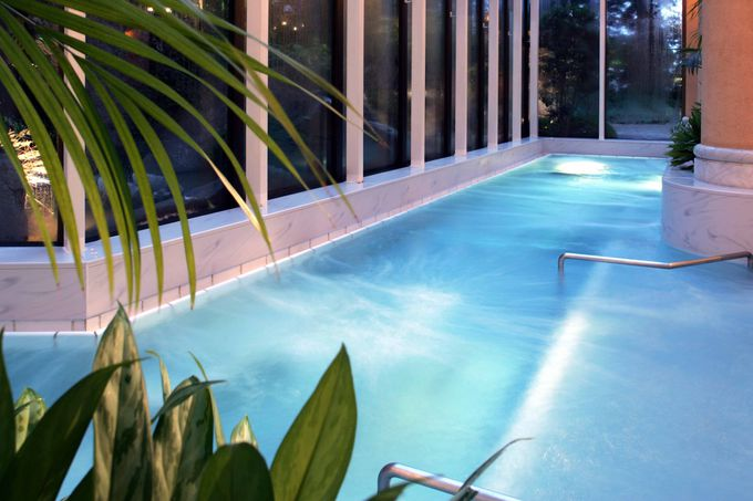 天井から自然の光が差し込む「悠 YU, THE SPA (ホテル椿山荘東京)」