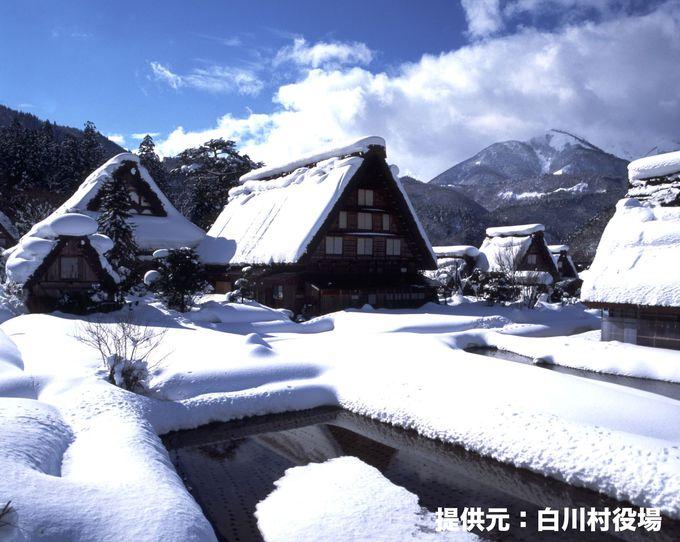 【白川郷】世界遺産で日本の原風景を感じる