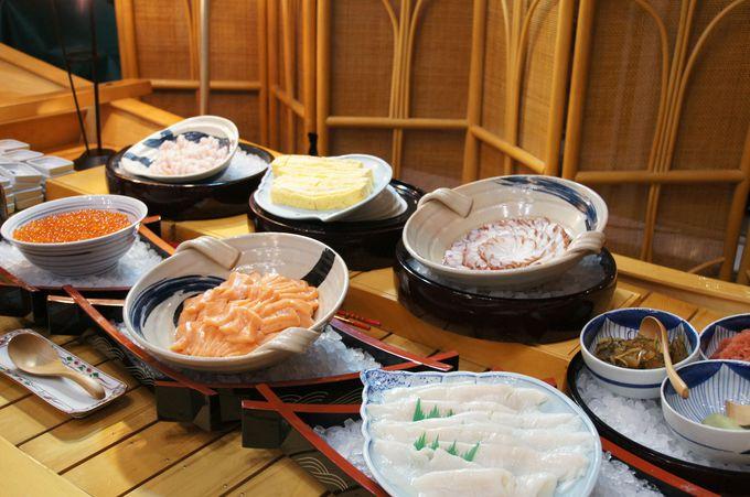 海産物を思う存分楽しめる「ロイトン札幌」