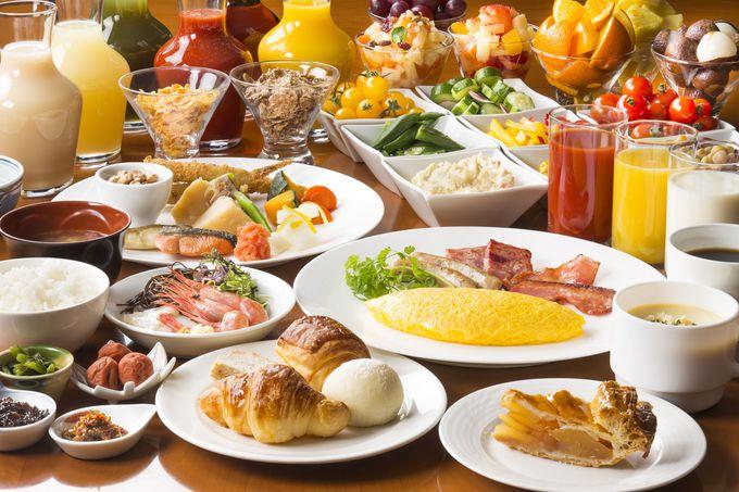 レストランごとにさまざまな朝食を楽しめる「札幌グランドホテル」