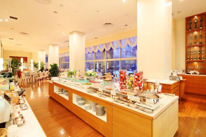 こだわりの素材を活かした料理を堪能できる「札幌パークホテル」