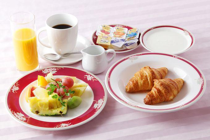 ビュッフェだけでなく朝食セットも楽しめる「ホテルエミシア札幌」