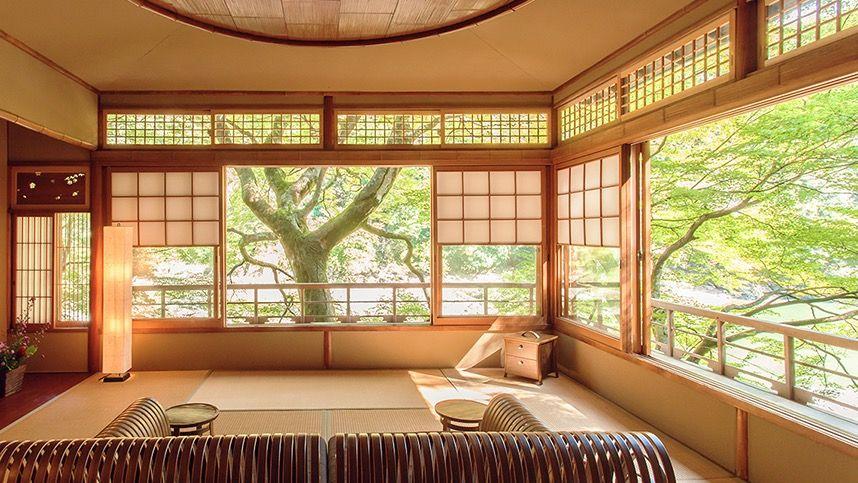 1.のんびりとした時間が流れる「星のや京都」