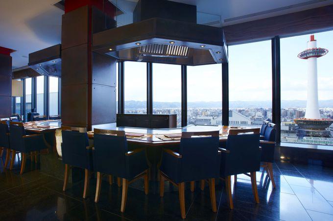 7.慌ただしい日常を忘れ、特別な料理を堪能できる「ホテルグランヴィア京都」