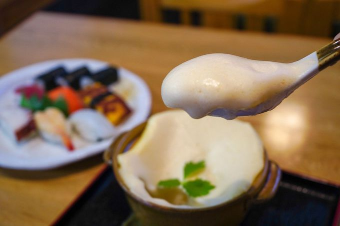 2日目お昼:袋井エリアの江戸の味「たまごふわふわ」