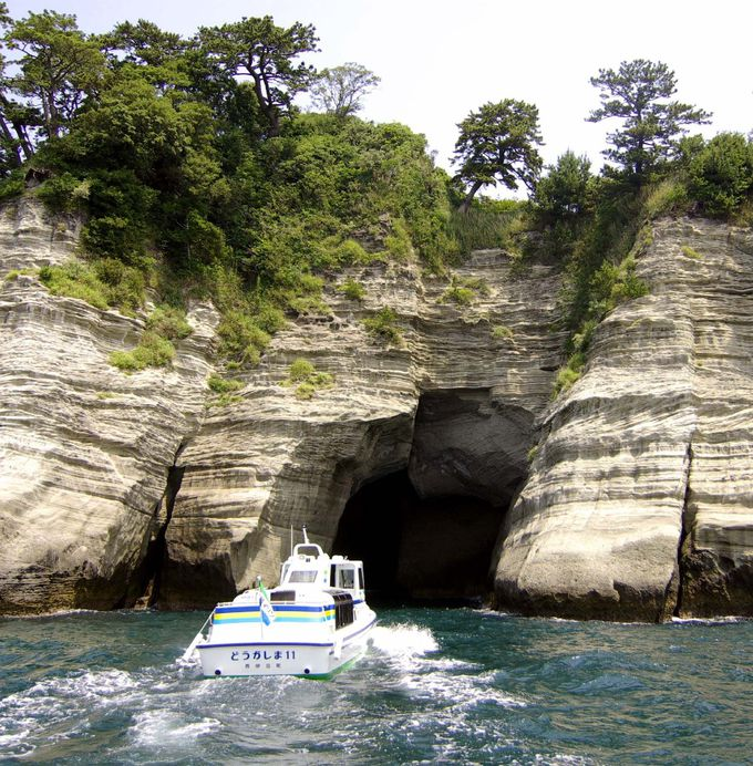 2日目午前:堂ヶ島遊覧船で美しい海を満喫