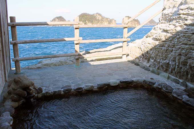 1日目午後:沢田公園露天風呂で絶景を独り占め