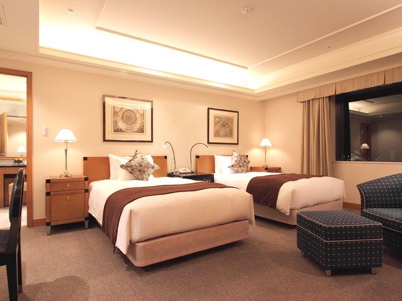 シンプルモダンなインテリアで落ち着ける「札幌エクセルホテル東急」