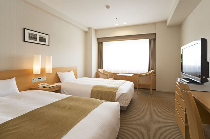 開放感あふれる空間が広がる「東京ドームホテル 札幌」