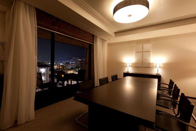 クラウンスイートの客室から見る夜景が美しい「ANAクラウンプラザホテル長崎グラバーヒル」