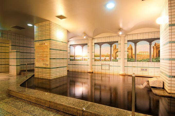 充実した温泉設備がある「湯元「花乃井」 スーパーホテル大阪天然温泉」