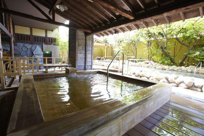 世界の温泉を満喫できる「スパワールド 世界の大温泉」
