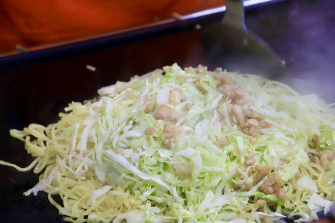 1日目お昼:もっちもち!富士宮やきそばを堪能