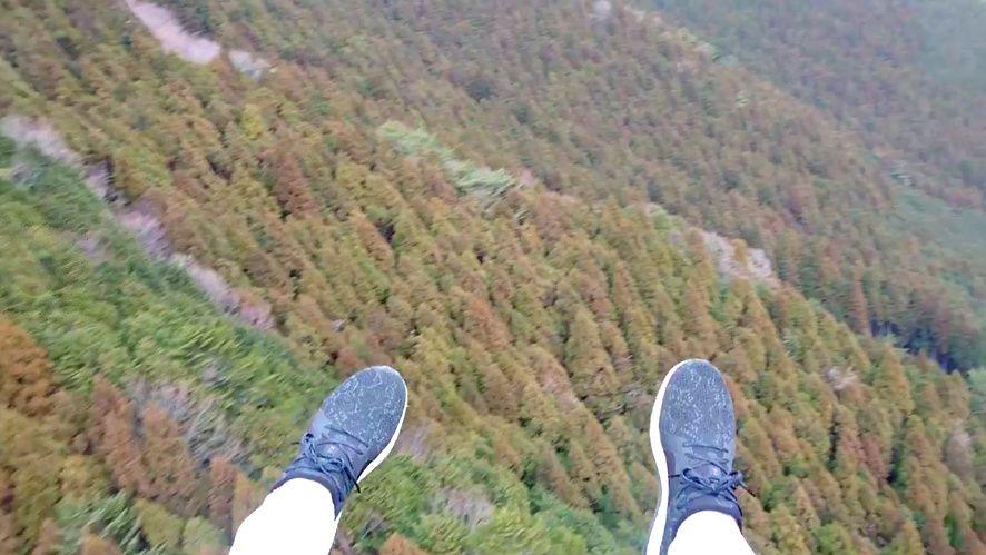 2日目午前:空から富士山のふもとへジャンプ!