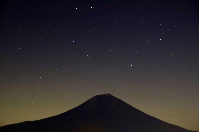 1日目夕方:田貫湖で眺める悠久の姿・富士山