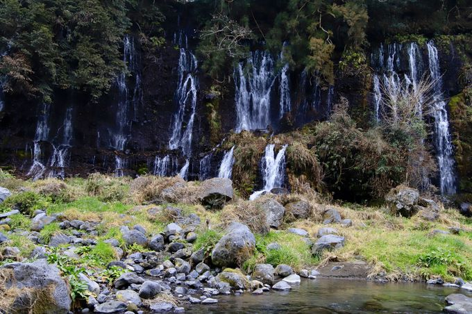 2日目午後:白糸ノ滝でマイナスイオン補給