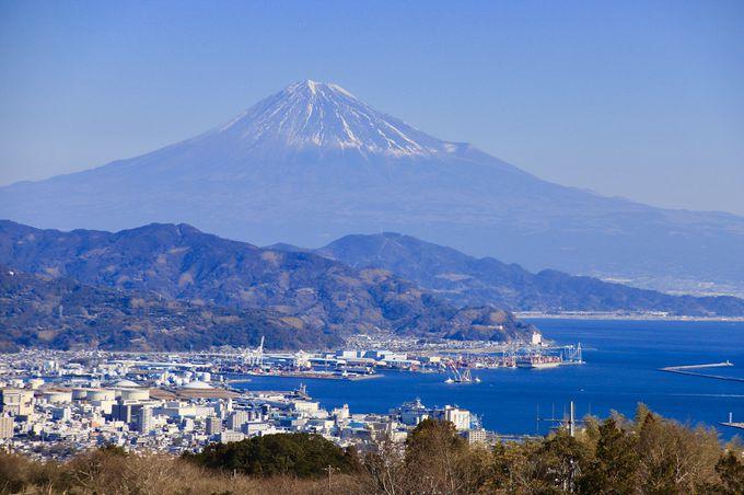 1日目午前:日本平で眺める雄大な富士山