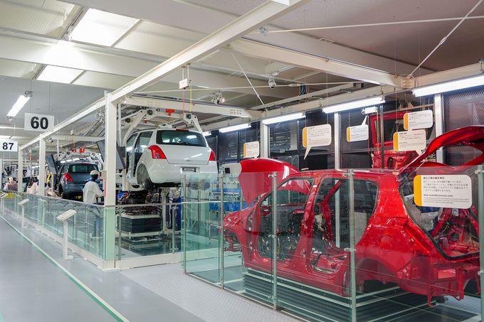 1日目午前:浜松の歴史も、車が作られる工程も見られる「スズキ歴史館」