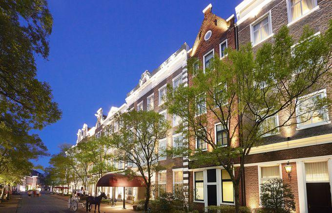ハウステンボス内にある唯一のホテル「ホテルアムステルダム」