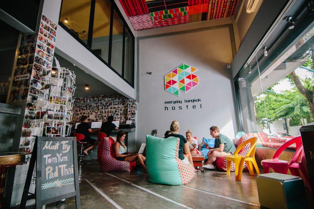 1.エブリデイ バンコク ホステル(Everyday Bangkok Hostel)