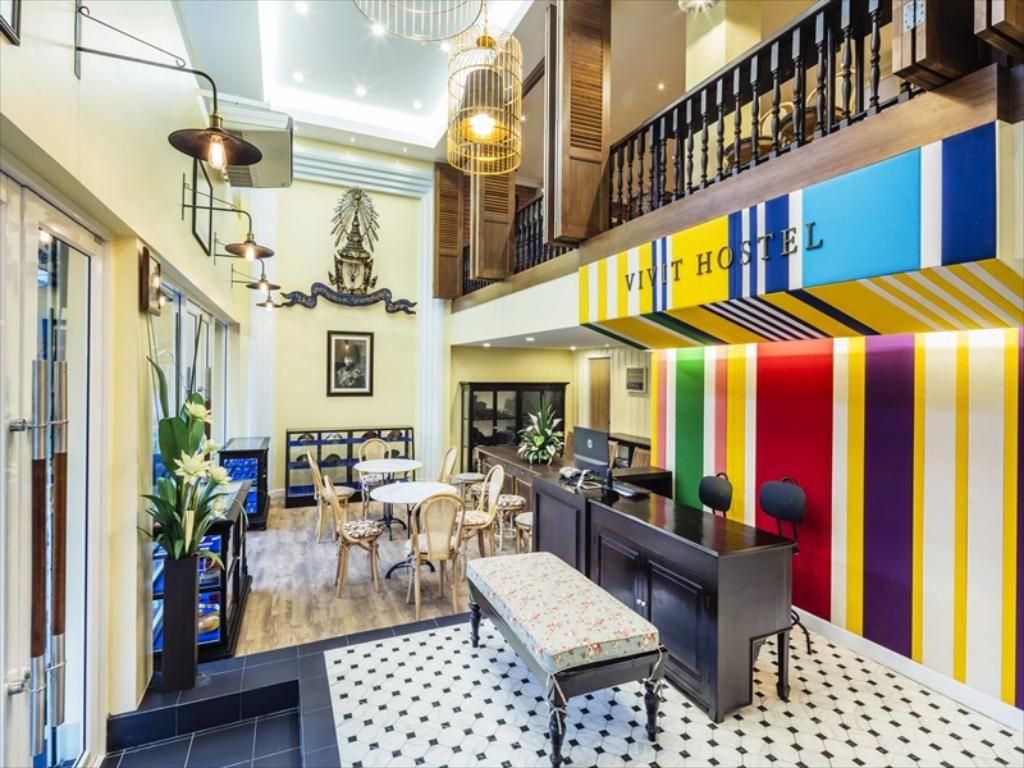 4.ヴィヴィット ホステル バンコク(Vivit Hostel Bangkok)
